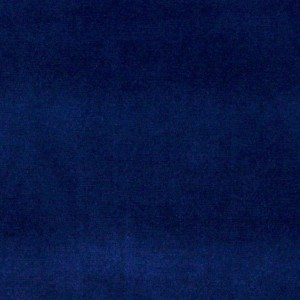 A0001g Dark Blue Authentic Cotton Velvet Upholstery Fabric By The Yard