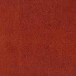 Rust Red Authentic Cotton Velvet Upholstery Fabric By The Yard
