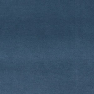 Blue Authentic Cotton Velvet Upholstery Fabric By The Yard