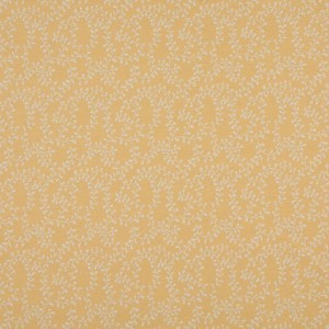 Gold And Beige Vines Woven Outdoor Upholstery Fabric By The Yard