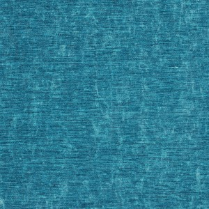 Aqua Turquoise Solid Shiny Woven Velvet Upholstery Fabric By The Yard
