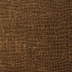 A0151K Brown Textured Alligator Shiny Woven Velvet Upholstery Fabric By The Yard