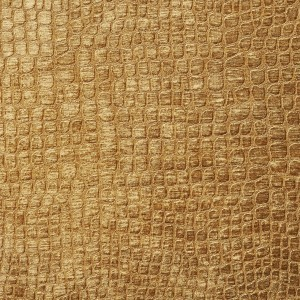 Copper Brown Textured Alligator Shiny Woven Velvet Upholstery Fabric By The Yard
