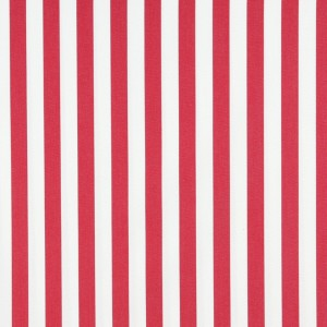 Red, Striped Solution Dyed Acrylic Outdoor Fabric By The Yard