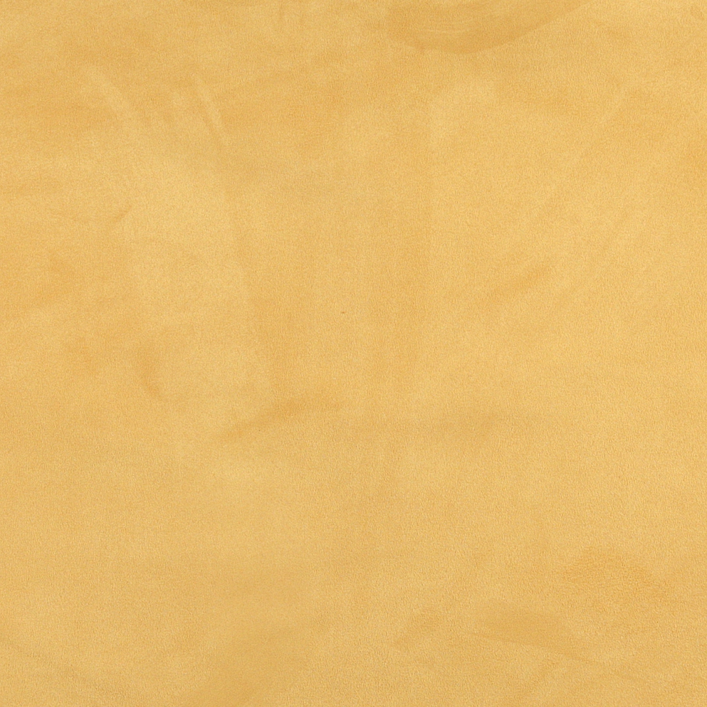 Golden Yellow, Microsuede Suede Upholstery Fabric By The Yard 1