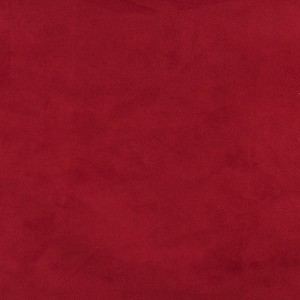 Dark Red, Microsuede Suede Upholstery Fabric By The Yard