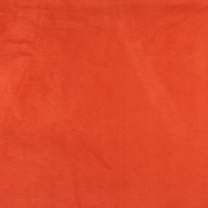 Orange, Microsuede Upholstery Fabric By The Yard