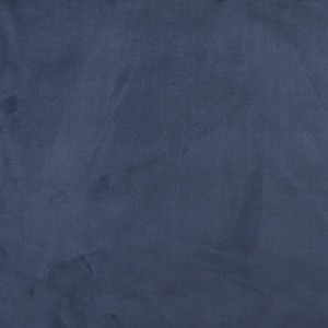 Blue, Microsuede Upholstery Fabric By The Yard