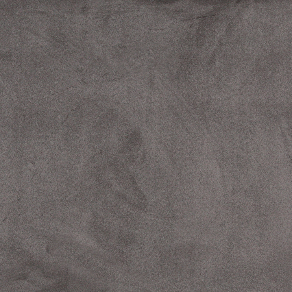 Gray Microsuede Upholstery Fabric By The Yard