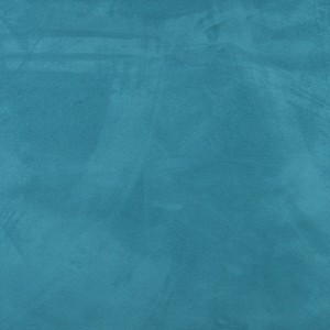 Turquoise, Microsuede Upholstery Fabric By The Yard