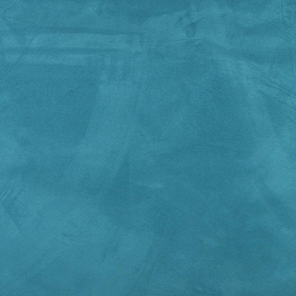 Turquoise, Microsuede Upholstery Fabric By The Yard 1