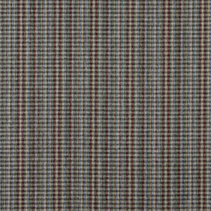 C649 Burgundy, Blue, Green And Beige Plaid Country Upholstery Fabric By The Yard
