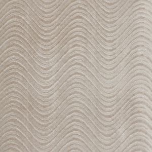 Light Grey, Classic Swirl Upholstery Velvet Fabric By The Yard