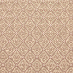 Gold And Pink, Diamond Brocade Upholstery Fabric By The Yard