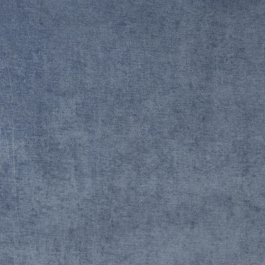 D227 Dark Blue, Solid Woven Velvet Upholstery Fabric By The Yard 1