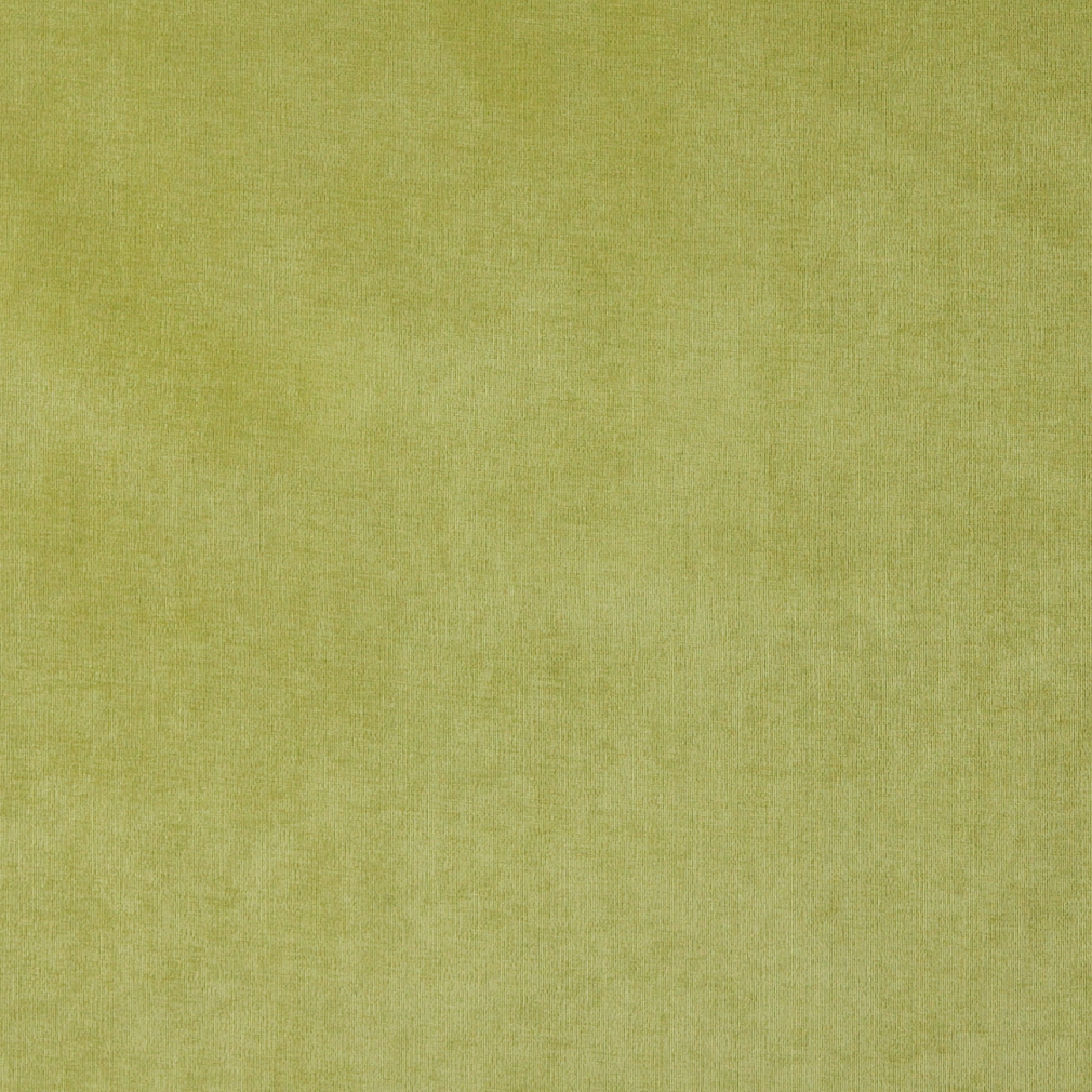 Lime Green, Solid Woven Velvet Upholstery Fabric By The Yard 1