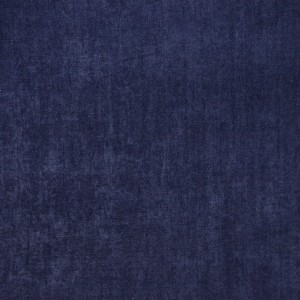 Navy Blue Smooth Polyester Velvet Upholstery Fabric By The Yard