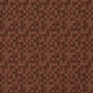 Burgundy Small Scale Geometric Boxes Contract Upholstery Fabric By The Yard