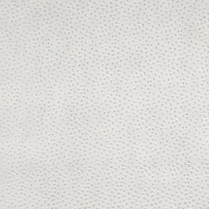 Light Grey, Textured Faux Ostrich Upholstery Vinyl By The Yard