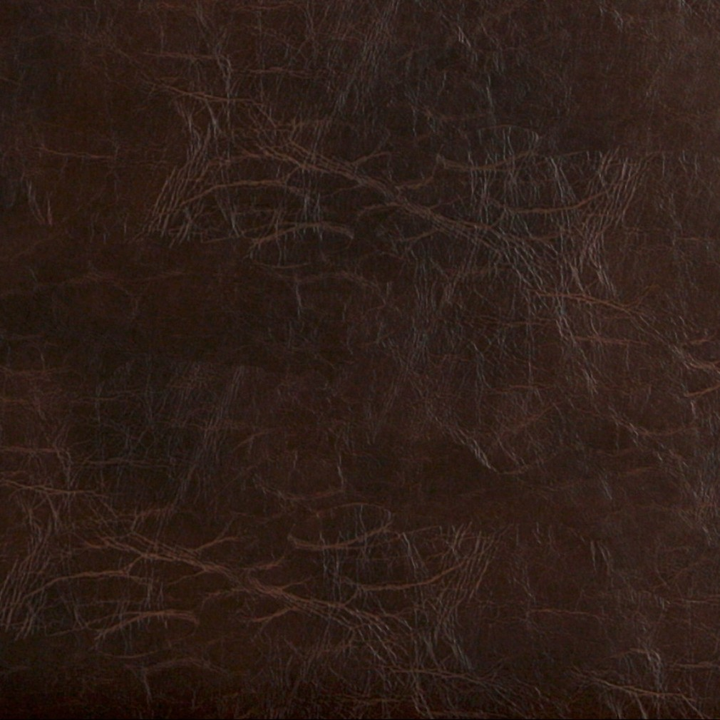 G491 Brown Distressed Leather Look Recycled Leather Look Upholstery By The Yard 1