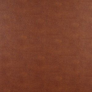 Saddle Brown Recycled Leather Look Upholstery By The Yard