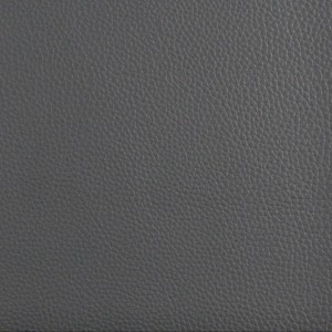 Grey Bison Leather Look Recycled Leather Look Upholstery By The Yard