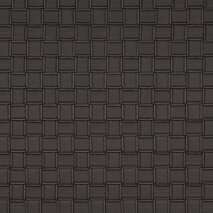G658 Brown, Basket Woven Look Upholstery Faux Leather By The Yard