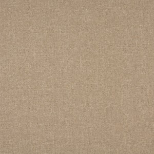 Beige, Solid Tweed Contract Grade Upholstery Fabric By The Yard