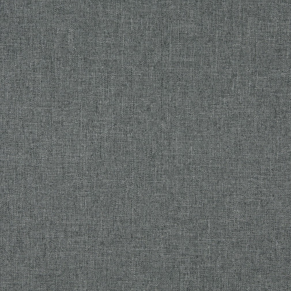 Charcoal Grey, Solid Tweed Contract Grade Upholstery Fabric By The Yard 1