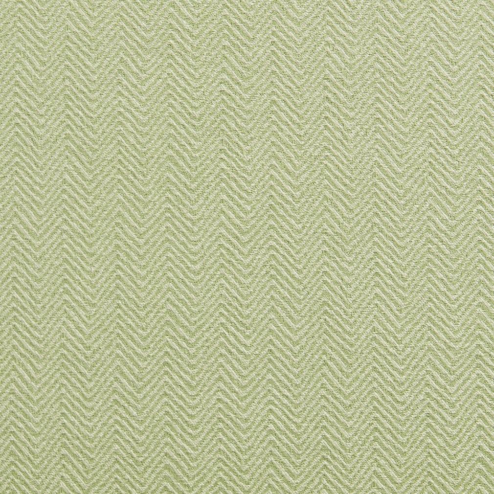 Light Green Small Herringbone Chevron Upholstery Fabric By The Yard