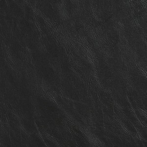 G400 Black Distressed Breathable Leather Look and Feel Upholstery By The Yard