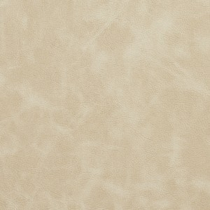 Ivory Matte Distressed Breathable Leather Look and Feel Upholstery By The Yard