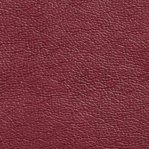 G435 Cranberry Red Breathable Leather Look and Feel Upholstery By The Yard