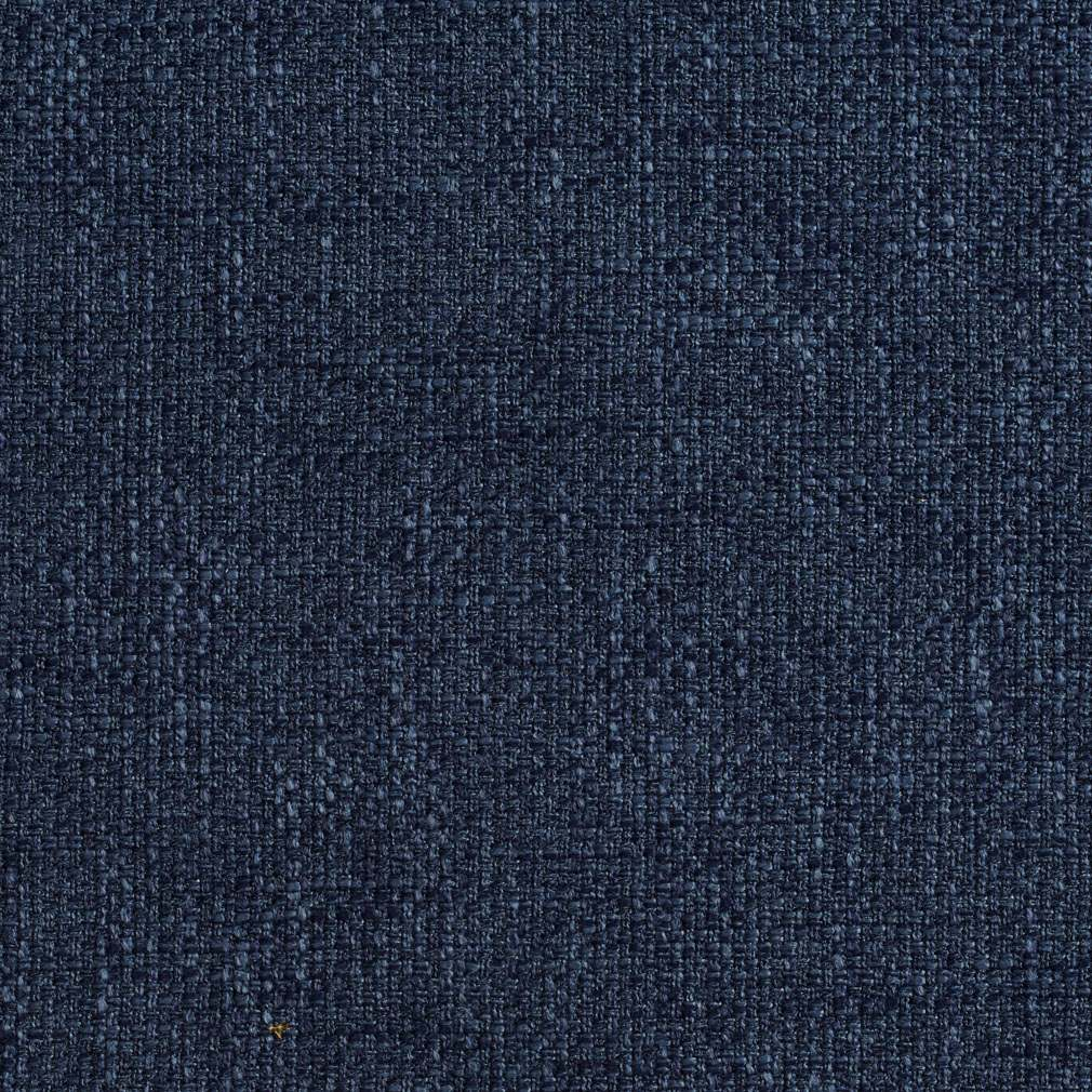 A789 Navy Blue Modern Woven Tweed Upholstery Fabric