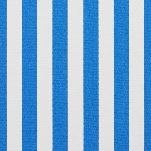 B485 Blue Striped Solution Dyed Acrylic Outdoor Upholstery Fabric By The Yard