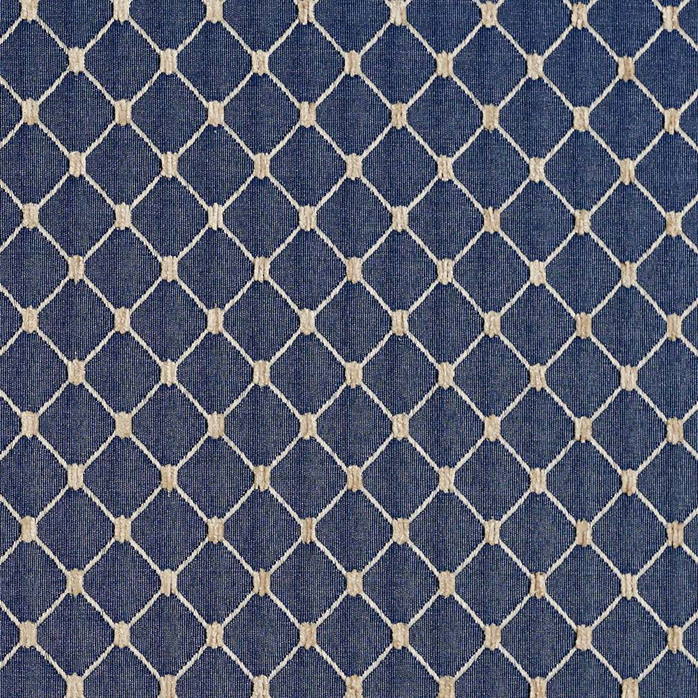 navy blue diamond jacquard woven upholstery fabric by the yard. Black Bedroom Furniture Sets. Home Design Ideas