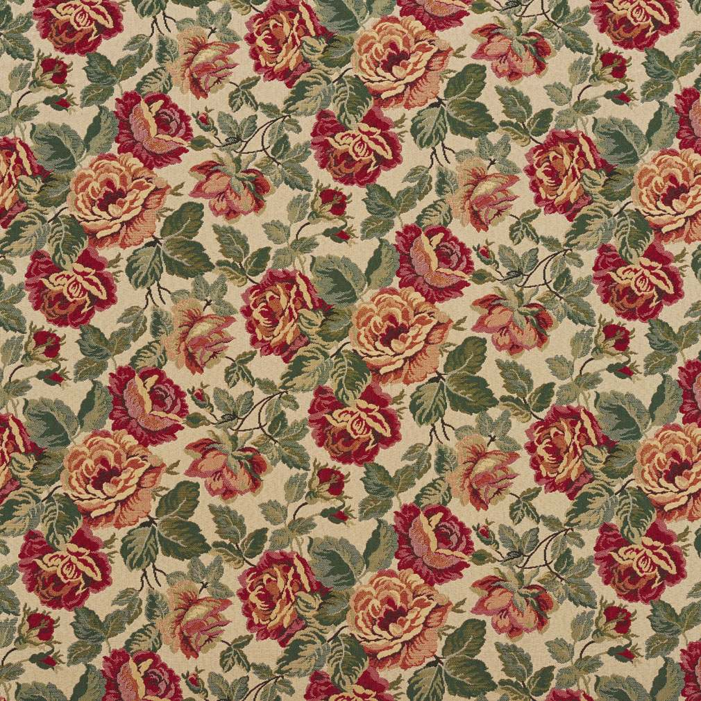 E072 Tapestry Upholstery Fabric By The Yard