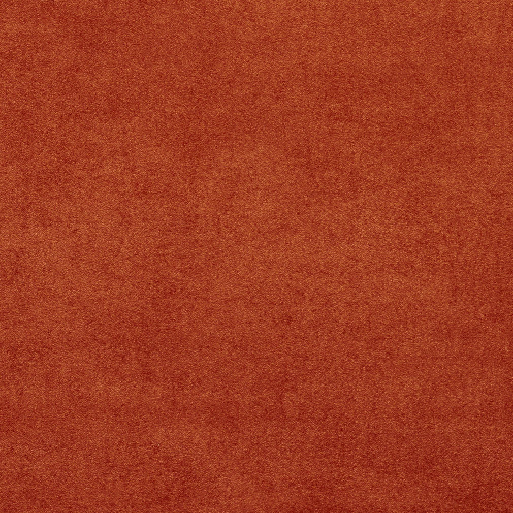 C051 Rust Red Microsuede Suede Upholstery Fabric