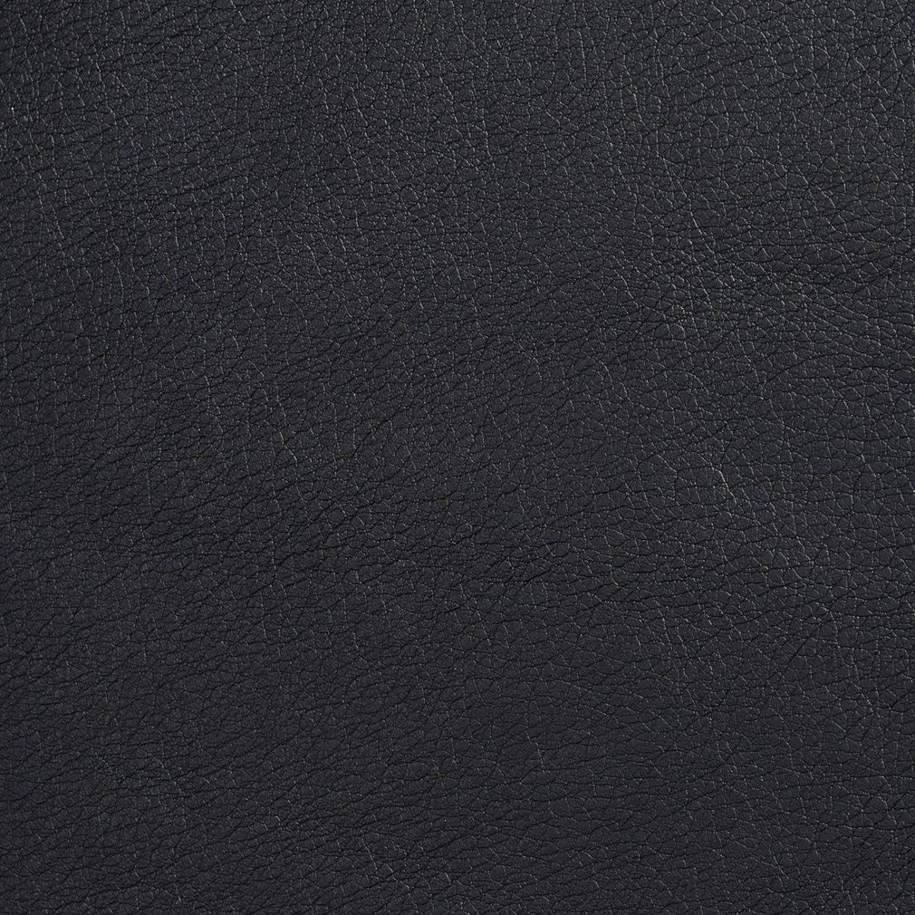 G517 Black Recycled Leather Look Upholstery