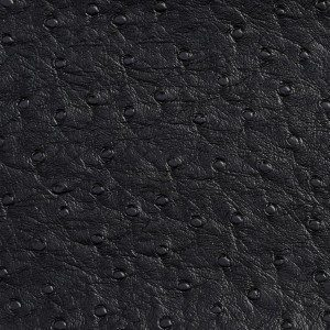 G703 Black Ostrich Emu Outdoor or Indoor Vinyl