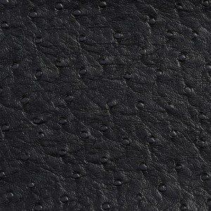 G703 Black Ostrich Emu Outdoor or Indoor Vinyl
