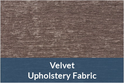velvet upholstery fabric category